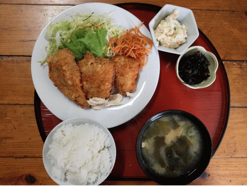 ミヤザキスタイル激推しの魚フライ定食
